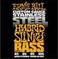 Ernie Ball2843 Hybrid Slinky Stainless Steel Bass Strings