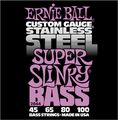 Ernie Ball2844 Super Slinky Stainless Steel Bass Strings