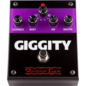 Voodoo Lab Giggity Overdrive Guitar Effects Pedal