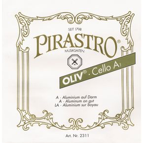 Pirastro Oliv Series Cello D String 4/4 - 26-1/2 Gauge  thumbnail