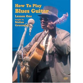 Mel Bay How to Play Blues Guitar DVD, Lesson 1   thumbnail