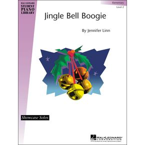 Hal Leonard Jingle Bell Boogie Elementary Level 2 Showcase Solos Hal Leonard Student Piano Library by Jennifer Linn   thumbnail