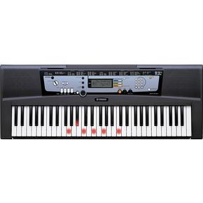 YamahaEZ 200 AD Portable Keyboards with Lights and Adapter-thumbnail
