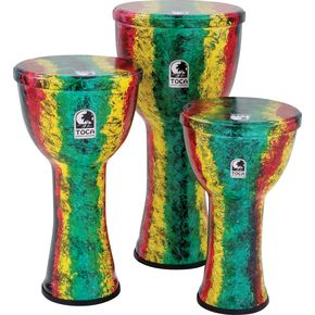 Toca Freestyle Lightweight Djembe Drum 12 in. Earth Tone thumbnail