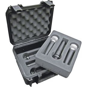 SKB Injection-Molded Microphone Case for 6 Mics   thumbnail