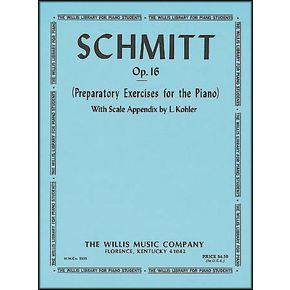 Willis Music Schmitt Preparatory Exercises for The Piano Opus 16   thumbnail