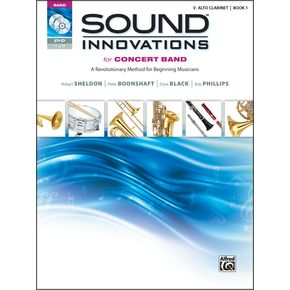 AlfredSound Innovations for Concert Band Book 1 E-Flat Alto Clarinet Bk CD/ DVD thumbnail