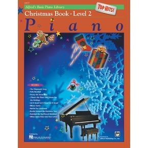AlfredAlfred's Basic Piano Course Top Hits! Christmas Book 2 thumbnail
