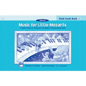 Alfred Music for Little Mozarts Flash Cards Level 3 Level 3   thumbnail
