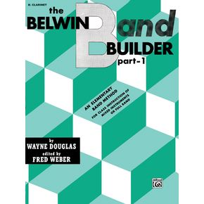 Alfred Belwin Band Builder Part 1 B-Flat Clarinet   thumbnail