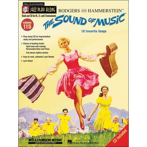 Hal Leonard The Sound Of Music - Jazz Play-Along Volume 115 (CD/Pkg)   thumbnail