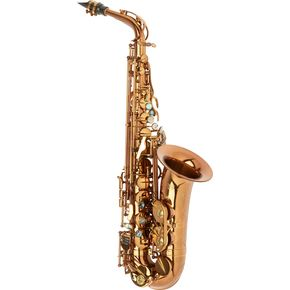 Allora Chicago Jazz Alto Saxophone AAAS-954 - Dark Gold Lacquer -thumbnail