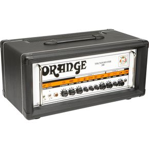 Orange Amplifiers Thunderverb 200 Series TH200HTC 200W Tube Guitar Amp Head Black  thumbnail