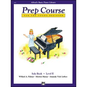Alfred Alfred's Basic Piano Prep Course Solo Book E   thumbnail