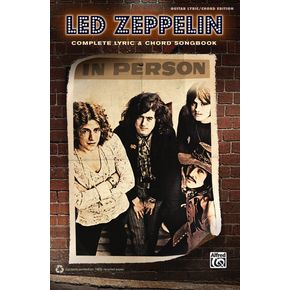 AlfredLed Zeppelin - Complete Lyric & Chord Songbook-thumbnail