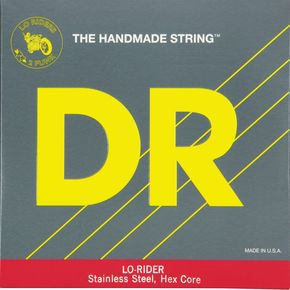 DR Strings Lo Rider MH5-130 Medium Stainless Steel 5-String Bass Strings .130 Low B   thumbnail