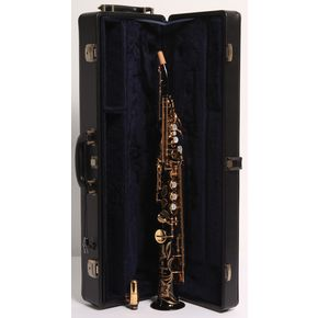 YamahaCustom YSS-82Z Series Professional Soprano Saxophone with Curved NeckBlack Lacquer886830052200 thumbnail