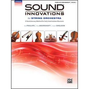 AlfredSound Innovations for String Orchestra Book 2 Piano Acc. Book Only thumbnail